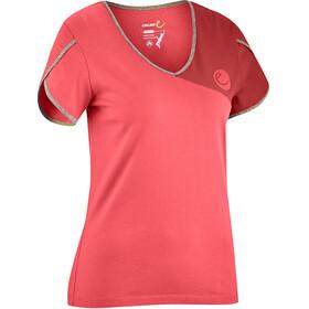Edelrid Tulip Naiset Lyhythihainen paita , punainen